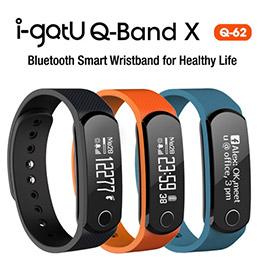 i-gotU Q-62 Q-Band X 智慧健身手環 藍牙4.0 運動藍芽手環