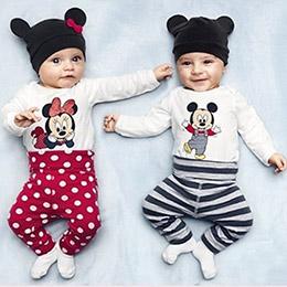 迪士尼三色連身衣