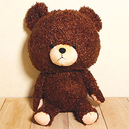 Bear School 小熊學校 日版 - Jackie熊玩偶・大  點數10倍送