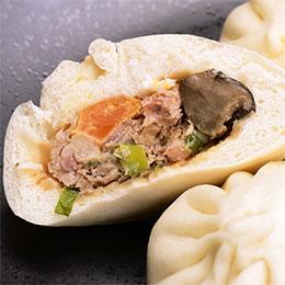 限量★手工蛋黃香菇肉包10入
