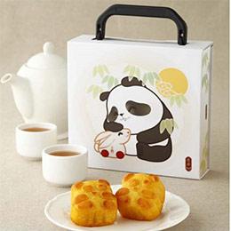 【奇華中秋】熊貓奶黃禮盒