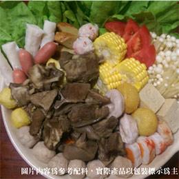 【羊肉爐2~3人份】精選羊肉、湯底、附豆腐乳醬(1800g)