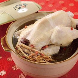 蔘棗養生燉雞(2~4人份)