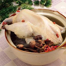 巴西蘑菇養生燉雞(2~4人份)