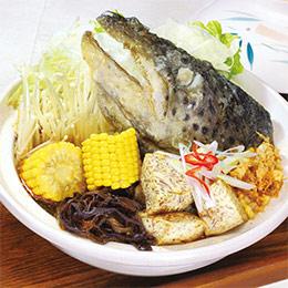 江南名菜沙鍋魚頭(4人份)
