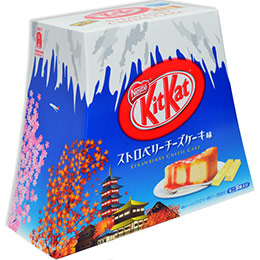 KitKat草莓起司蛋糕巧克力餅乾