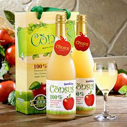 100%纖醇蘋果汁