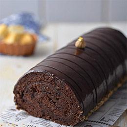 榛果巧克力捲