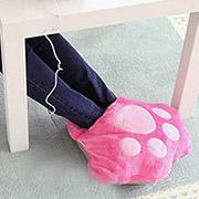 毛绒貓爪全包式保暖鞋