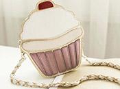 杯子蛋糕鍊條側背包