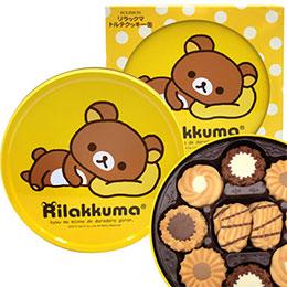 北日本Rilakkuma拉拉熊餅乾禮盒