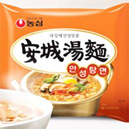 韓國農心 內銷版安城湯麵