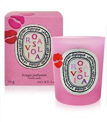 Diptyque玫瑰之吻限量香氛蠟燭70g
