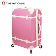 Travel House經典歲月20吋復古多色系行李箱