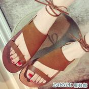 波西米亞綁帶涼鞋