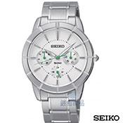 SEIKO白面鋼帶女錶