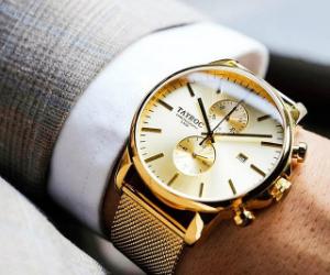 Tayroc英倫紳士時尚計時腕錶