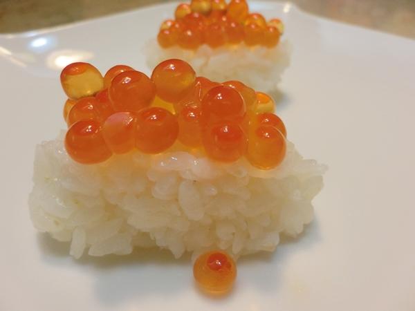 鮭魚卵 壽司