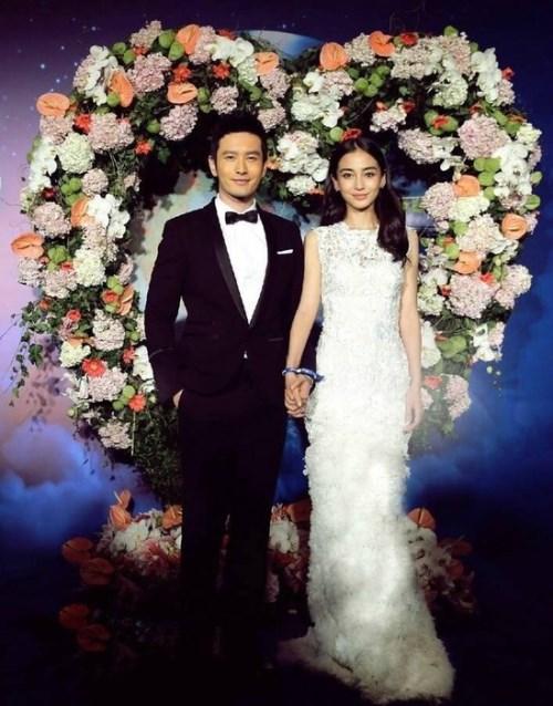 黃曉明結婚