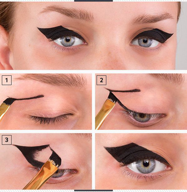 Bat-Eyeliner