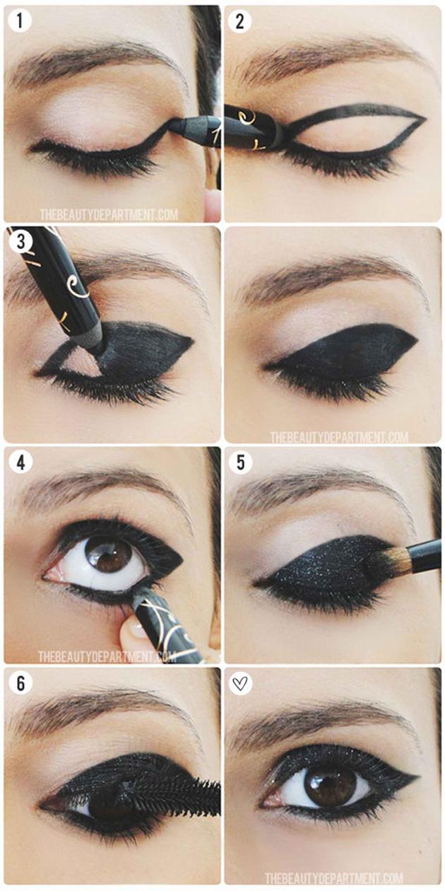 Eyeshadow-Eyeliner