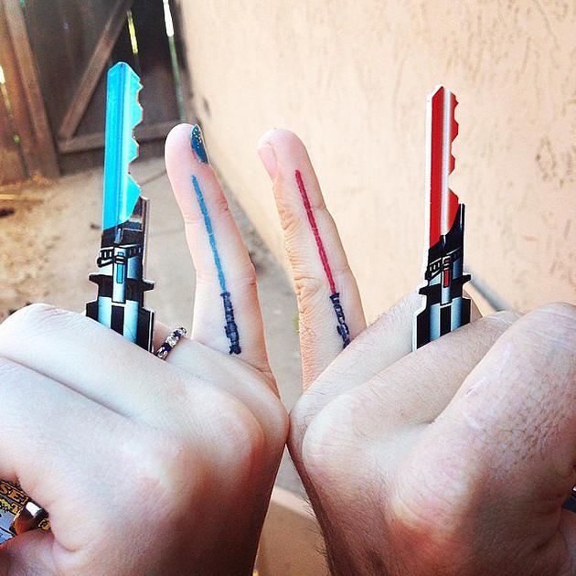 Matching-Lightsabers