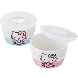 Hello Kitty日本製微波碗組2入