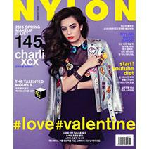 NYLON韓國版 2月號2015