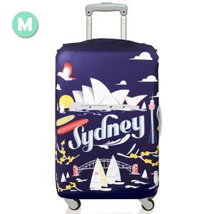 雪梨繪圖城市行李箱套