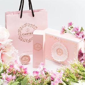 法式甜心禮盒 (護手霜+護唇膏)