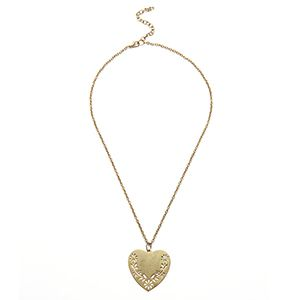 古銅金設計項鍊