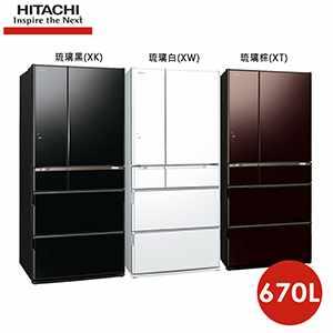 670L日本原裝變頻六門冰箱