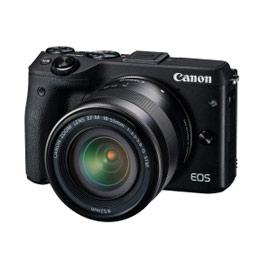 Canon EOS-M3 18-55mm + 22mm STM 雙  鏡組