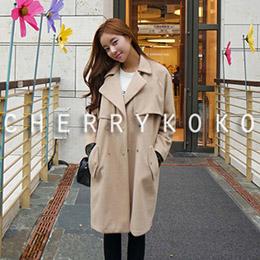 CHERRYKOKO毛料大衣