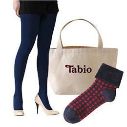 連褲襪110D+千鳥格紋折疊短襪+小福袋