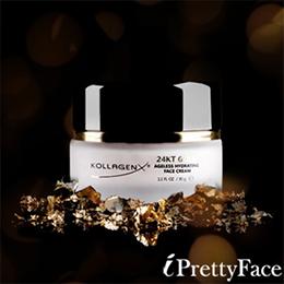 KOLLAGENX 24K 微金粒子黃金保濕臉霜 30g