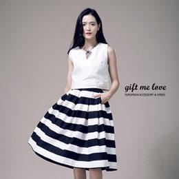 歐美時尚Chanel Choies訂製高腰大圓裙