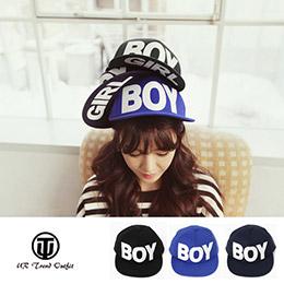 韓版潮流字母平簷嘻哈棒球帽