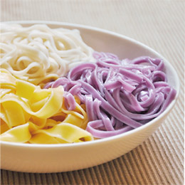 竹山番薯乾麵×日晒粿仔乾×紫心蕃薯
