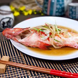 七星紅條 活凍軟絲 鯖魚片  熟白蝦