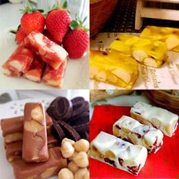 夏威夷豆系列牛軋糖、軟糖禮盒組