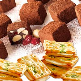 蔓越莓苦甜巧克力+甜心乳佳12入蔥花