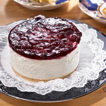 藍莓低脂起司蛋糕