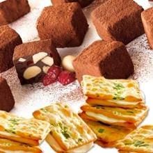 蔓越莓手工巧克力+甜心乳佳12入蔥花