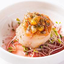 無毒白蝦+特級生干貝+格陵蘭真鱈+鹽漬鯖魚