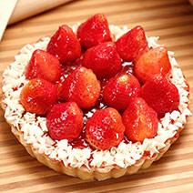法式手做草莓派六吋