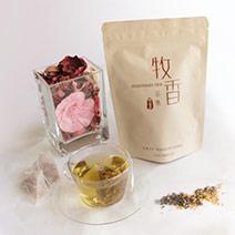 『牧香茶集花茶系列』無毒桂花烏龍原片茶包