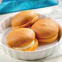 輕乳酪漢堡堡6入+地中海乳酪6入