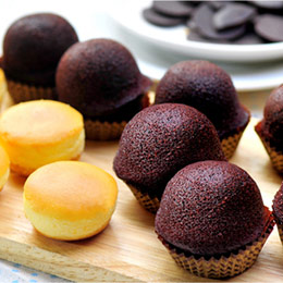 人氣免運組:乳酪球+巧克力布朗尼