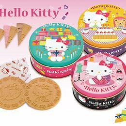 HELLO KITTY圓罐鐵盒